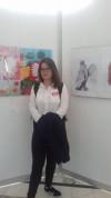 Magda z jej pracą