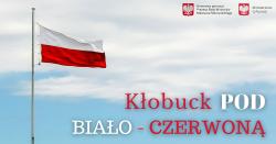logo Kłobuck pod Biało-Czerwoną